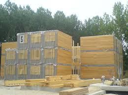 maison préfabriquée en bois escb modulaire logismarket fr