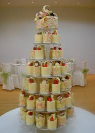 Mini Cheesecake Wedding Cakeif You Wanted Rustic Version Of