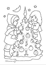 Dessins Gratuits à Colorier Coloriage Sapin De Noel à Imprimer
