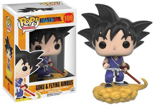 Funko POP! Dragon Ball Z Figure - Goku & Flying Nimbus