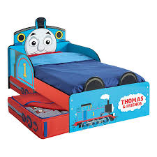 Thomas The Tank Engine Wall Decor by Thomas U0026 Friends Mdf Toddler Bed With Storage New Tank Engine Boys