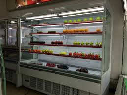 Supermarket Open Front Cold Drink Fridge Display Refrigerator
