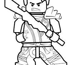 Kai Ninjago Coloring Pages