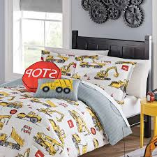 100 Boys Truck Bedding Buy MI 3 Piece Kids Construction Site Comforter Set Full Sized