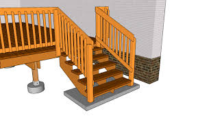 Deck Railing | Deck Stair Railing Plans | Free Outdoor Plans - DIY ... Outdoor Wrought Iron Stair Railings Fine The Cheapest Exterior Handrail Moneysaving Ideas Youtube Decorations Modern Indoor Railing Kits Systems For Your Steel Cable Railing Is A Good Traditional Modern Mix Glass Railings Exterior Wooden Cap Glass 100_4199jpg 23041728 Pinterest Iron Stairs Amusing Wrought Handrails Fascangwughtiron Outside Metal Staircase Outdoor Home Insight How To Install Traditional Builddirect Porch Hgtv
