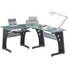 Techni Mobili Desk W Retractable Table by Techni Mobili Computer Desk Graphite Rta 3803 Staples