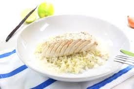 comment cuisiner le cabillaud cabillaud à la vanille et riz au citron vert la recette de