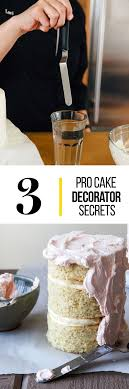 3 Secrets of Pro Cake Decorators