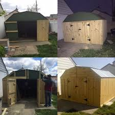 Cheap Shed Cladding Ideas by Upgrade An Old Metal Shed Exterior 8 Steps With Pictures