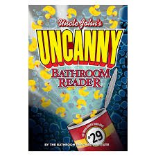 Uncle Johns Bathroom Reader Facts by Bossman Graphics