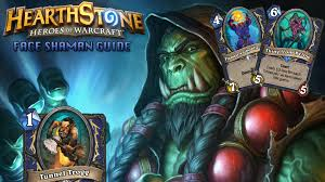 hearthstone standard face shaman deck strategy guide stack up org