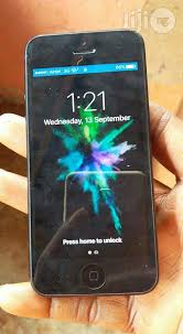 Used Apple iPhone 5 Black 16 GB for sale in Awka South