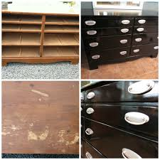 Baby Cache Heritage Dresser Changer Combo Chestnut by Minwax Polyshades Black On A Dresser Painted Furniture