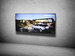 wall mounted light box single sided led lightbox manufacturer