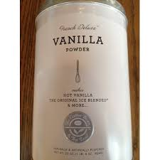 The Coffee Bean Tea Leaf French Deluxe Vanilla Powder Make Your Own Drink At