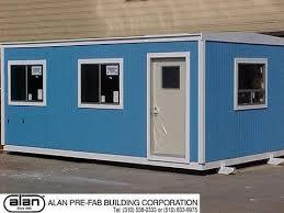 Alan Modular Buildings Portable fices In California