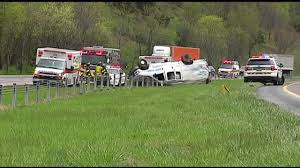 Emmaus Halloween Parade Route by Rollover Crash Reported On I 78 In Lower Saucon Wfmz