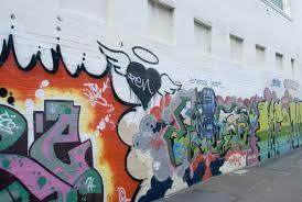 A Long Wall Of Graffiti Artwork