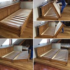Village Style, Folding Double Bed | Diy Sofa Bed, Diy Sofa
