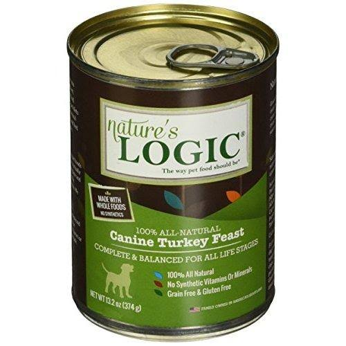 Nature's Logic Canned Dog Food - Canine Turkey Feast