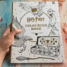 96 Paginas Harry Potter Adultos Coloring Book Secret Garden Serie De Libros Aliviar El Estres
