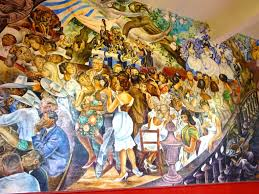 Jose Clemente Orozco Murales Palacio De Gobierno by Interior Palacio De Gobierno Aguascalientes Detail Of The Mural