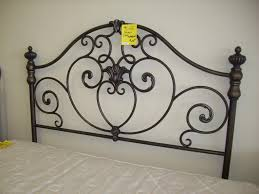 Wrought Iron And Wood King Headboard by Wrought Iron Queen Headboard Including Bed Frames Canopy Twin