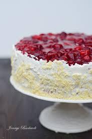 vanille himbeer torte