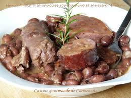 cuisine toulousaine haricots noirs frijoles negros à la saucisse toulousaine et