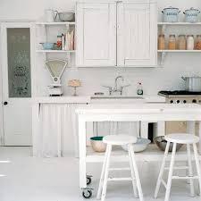 White Coastal Rustic Kitchen Home Stools Decor Tuvalu