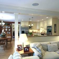 Half Wall Ideas Kitchen Accent For Family Room