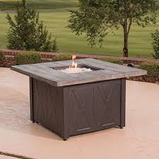 member s mark 42 square outdoor lpg fire table sam s club
