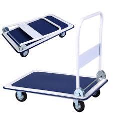New 330lbs Platform Cart Dolly Folding Foldable Moving Warehouse ...