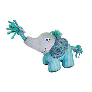 Kong Carnival Knots Small/Medium Elephant