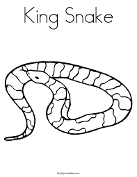 Perfect Coloring Page Snake 68 For Pictures With