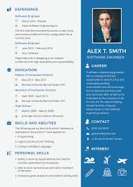 Printable Software Engineer Resume For Fresher