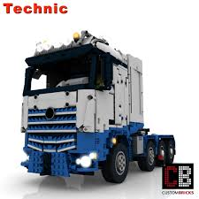 100 Lego Remote Control Truck CUSTOMBRICKSde LEGO Technic Model Arocs SLT RC
