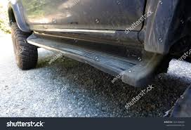 Close Side Step Vehicle Pickup Truck Stock Photo (Edit Now ...