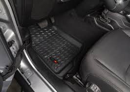 Rugged Ridge 12920.36 Front Floor Liners For 18-19 Jeep Wrangler JL ... Rugged Ridge All Terrain Floor Liners Bizon Truck Accsories Weathertech Custom Fit Car Mats Speedy Glass 22016 Ford Expedition Husky Whbeater Front Mats Gallery In Connecticut Attention To Detail Weathertech Digalfit Free Shipping Low Price Sharptruckcom Buy 444651 1st Row Black Molded Nissan Xterra 2005 Heavy Duty Toyota