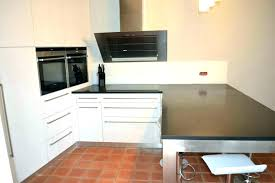 cuisine plan de travail gris meuble plan de travail cuisine plan de travail bar cuisine meuble