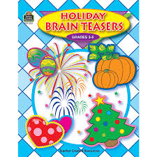 Halloween Brain Teasers by Holiday Brain Teasers Tcr3351 Teacher Created Resources