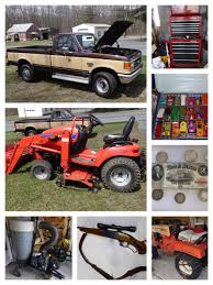 Pickup Truck, Nissan 240 SX Car, Lawn & Garden Tools, Firearms ...