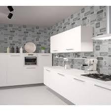 papier peint cuisine gris déco cuisine papier peint poster peinture sticker chantemur