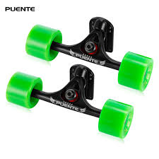 PUENTE 2pcs / Set Skateboard Truck With Skate Wheel Riser ABEC 9 ... Longboard Skateboard Trucks Combo Set W 71mm Wheels 9675 Tandem Axle Double Wheeled Kit Set For Truck Longboard Big Boy Bigboy 180mm Trucks 70mm Wheels Bearings Combo Solid 180mm Paris V2 50 Black On Unknown Brand Deck Drop Through Trucks And Pneumatic Wheel Old School Skate Cruiser Stock Vector 226832461 Diy How To Assemble A Drop Through Deck The Store Amazoncom China Silver Alloy Metal Wheel Ultimate Beginners Guide To Loboarding Board