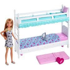 barbie sisters bunk beds stacie doll dgx45 barbie