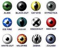 Halloween Contacts Cheap No Prescription by Wild Eyes Special Effect Halloween Contact Lenses Visionary