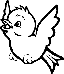 Lofty Idea Coloring Page Of A Bird Pages