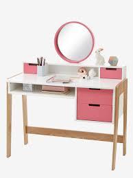bureau coiffeuse spécial primaire colors blocs blanc bois