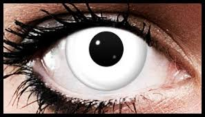 Halloween Contact Lenses Amazon by White Out Crazy Coloured Contact Lenses 90 Days Fashion And