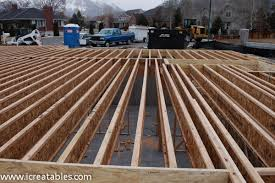 Floor Joist Spans For Decks by Deck Joist Layout Deck Design And Ideas